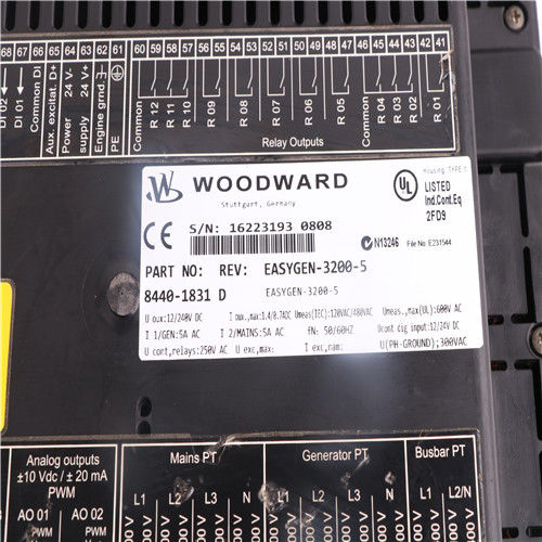 5417-1251 Woodward USB - convertisseur d'UART grand en stock fournisseur